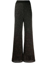 M Missoni Knitted Sequin Embellished Palazzo Trousers 60