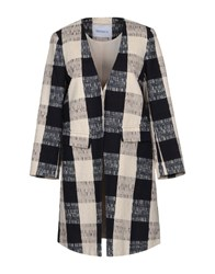 Max And Co. Overcoats Ivory