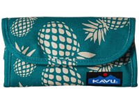 Kavu Big Spender Pineapple Passion Wallet Handbags Blue