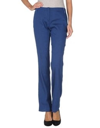 Caractere Aria Casual Pants Blue
