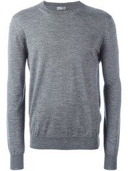Christian Dior Homme Blurry Stripes Pullover Grey