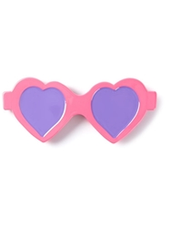 Moschino Heart Shaped Sunglasses Hairclip