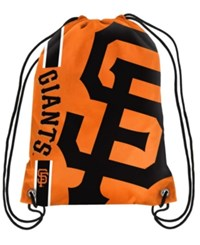 Forever Collectibles San Francisco Giants Big Logo Drawstring Bag Orange