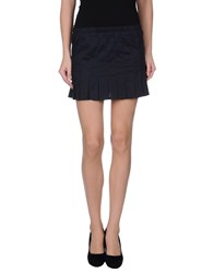 Daniele Alessandrini Skirts Mini Skirts Women Dark Blue