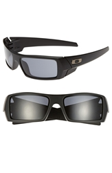 Oakley 'Gascan' 60Mm Sunglasses Matte Black Grey