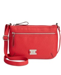 Styleandco. Style And Co. Passport Crossbody Only At Macy's Chinese Red