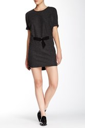 Shades Of Grey Judo Belt Bag Dress Black