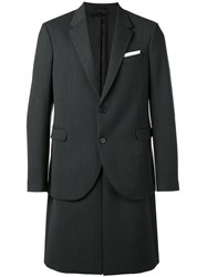 Neil Barrett Blazer Coat Grey