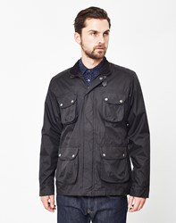 The Idle Man Coated Field Jacket Black