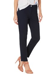 Betty Barclay Cropped Five Pocket Jeans Dark Sky