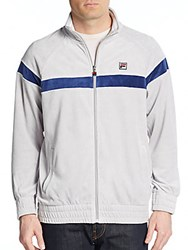 Fila Old School Track Jacket White Blue