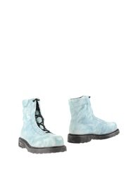 Cult Ankle Boots Sky Blue