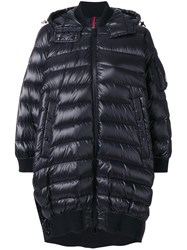 Moncler Padded Oversized Coat Women Feather Down Polyamide 1 Black