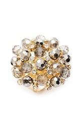 Natasha Couture Women's Bead And Crystal Ring