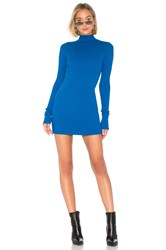 Cotton Citizen The Ibiza Mini Dress Royal