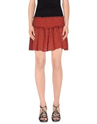 Gaudi' Skirts Mini Skirts Women Red