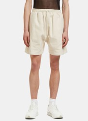 Camiel Fortgens Men's Football Shorts In Off White Naturals