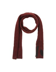 Gianfranco Ferre' Accessories Oblong Scarves Men Maroon