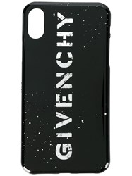 Givenchy Logo Iphone X Cover Black