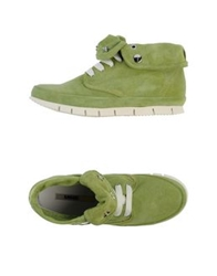 Manas Design Manas High Tops And Trainers Light Green