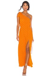 Privacy Please Blake Maxi Dress Orange