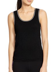 Lauren Ralph Lauren Sleeveless Scoopneck Sweater Black