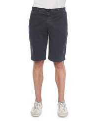 Ag Adriano Goldschmied Griffin Flat Front Shorts Dark Gray