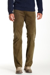 Ag Jeans Protege Corduroy Straight Leg Pant Green