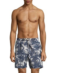 Selected Palm Shhhmax Swim Shorts Ombre Blue