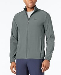 Champion Men's Woven Track Jacket Grey