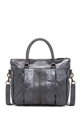 Liebeskind Paulab Leather Satchel Gray