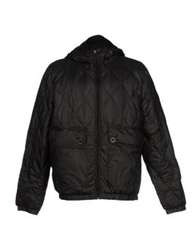 Puffa Down Jackets Black