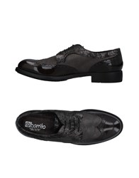 Ebarrito Lace Up Shoes Dark Brown