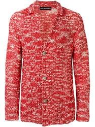 Issey Miyake Vintage Paper Knitted Cardigan Pink And Purple