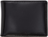 Marc By Marc Jacobs Black And Fluorescent Bifold Martin Wallet