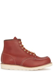 Red Wing Shoes Brick Red Leather Boots