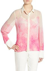 Women's Ellen Tracy Floral Print Blouse