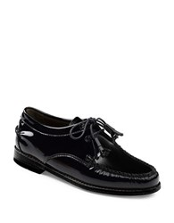 G.H. Bass Winnie Patent Leather Oxfords Black