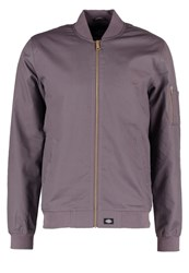 Dickies Hughson Bomber Jacket Gravel Gray Grey