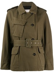 Closed Double Breasted Military Jacket 60