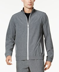 Ideology Id Men's Woven Track Jacket Created For Macy's Grey Heather