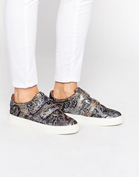 Asos Darko Trainers Jacquard Multi
