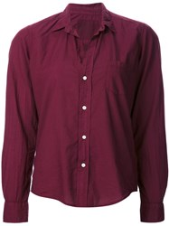 Frank And Eileen Relaxed Fit Shirt Pink And Purple