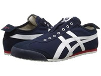 Onitsuka Tiger By Asics Mexico 66 Slip On Navy Off White Shoes Black