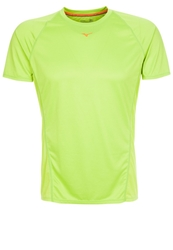 Mizuno Drylite Performance Sports Shirt Lime Green