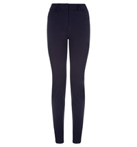 Hobbs Pryors Peg Leg Trousers Navy