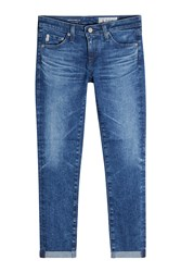 Adriano Goldschmied Rolled Up Crop Jeans Gr. 28
