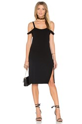 Feel The Piece Verkler Cold Shoulder Dress Black