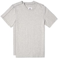 Reigning Champ 2 Pack Jersey Knit Tee Grey