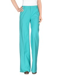 M Missoni Trousers Casual Trousers Women Turquoise